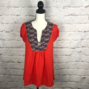 Anthropologie Meadow Rue Blouse Sz Large